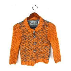Free people sweater XS knit crochet fair isle boho